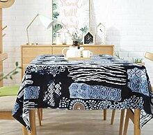 Rechteckige Tischdecke modernen minimalistischen