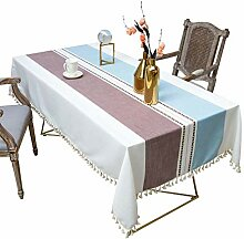 Rechteckige Tischdecke, Schwere Tischdecke Aus