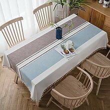 Rechteckige Tischdecke Tischtuch Abwaschbar