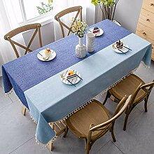 Rechteckige Tischdecke Tischtücher Quaste