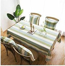 Rechteckige Tischdecke,Waschbare