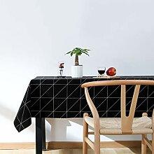 Rechteckige Tischdecke WasserabweisendFleckschutz