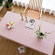 Rechteckige Tischtuch Abwaschbar Tischdecke für