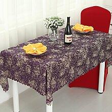 Rechteckigen Tisch Tischdecke Stoff europäischen Stil Restaurant Restaurant Bankett Kaffeetisch Tischdecke Hotel Tischdecke ( farbe : # 2 , größe : 140*140cm )