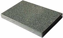 Rechteckiger Grillstein aus Granit für den