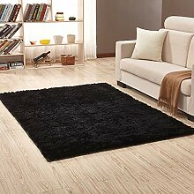 Rechteckiger Teppich, flauschiger Zottelteppich,
