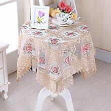 Rechteckiger Tisch Tuch Sticken Tischdecke/