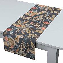 Rechteckiger Tischläufer, anthrazit-braun, 40 ×