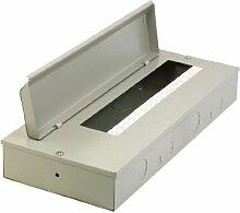 rectangling Gray Metall Verteiler Guard Cover