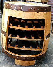 Recycelt Schottische Oak Whiskey Fass Gartentisch