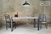 Recycelter Tisch aus Teakholz vintage