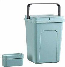 Recyclingbehälter öffnen Deckel