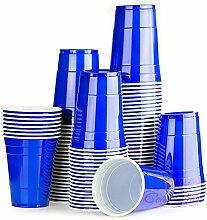 Red Celebration Blaue Bechern 2500 x Blue Cups -