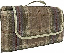 Red Hamper Picknickdecke aus Polyester-Fleece, Ro