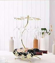 Red Wine Rack Retro schmiedeeisernen Inverted Glashalter Weinkelche hängen das Regal ( Farbe : #2 )