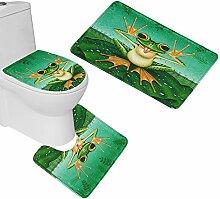 RedBeans 3Stück WC-Sitz Cover und Set