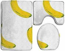 RedBeans Badteppich-Set, mit Bananenfilter,
