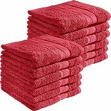 REDBEST Handtuch Chicago 12er- Pack 100% Baumwolle