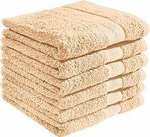 REDBEST Handtuch Chicago 6er-Pack 100% Baumwolle