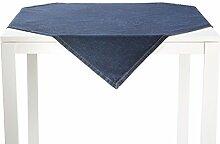 REDBEST Mitteldecke dunkelblau Größe 80x80 cm