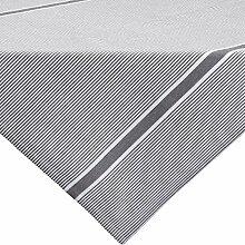 REDBEST Mitteldecke, Tischdecke grau Größe