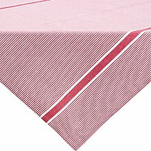 REDBEST Mitteldecke, Tischdecke rot Größe 80x80