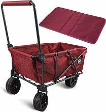 REDCAMP Faltbarer Allzweckwagen für Camping,