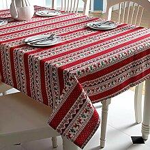 redcolourful Weihnachtliche Tischdecke mit