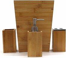 Redmon since 1883 Bamboo 4 PC Bathroom Accessory