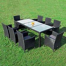RedNeck Gartenmöbel Set 8er Sitzgruppe Dining