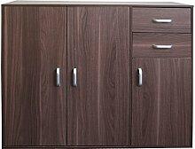 Redstone Sideboard Kommode 3 Türen 2 Schubladen