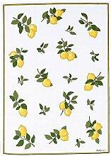 Reduziert: Kracht - Geschirrtücher mit Zitronen,