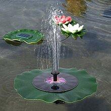 Redxiao Solarbrunnen Wasserpumpe, Solarbetriebener