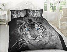 Reedax 3D Effekt Bettbezug Animal Print Designs
