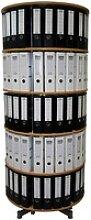 reef Ordnerdrehsäule buche für bis zu 120 Ordner