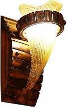 Reeseiy Chinesische Massivholz Keramik Lampe Licht