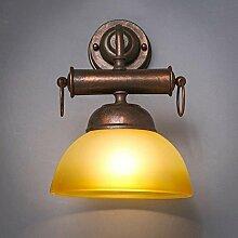 Reeseiy Wandlampe Amerikanischen Loft Retro