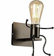 Reeseiy Wandlampe Die Einfachen Schmiedeeisernen