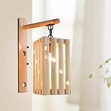 Reeseiy Wandlampe Einfach Personalisierte Bambus