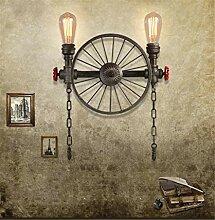 Reeseiy Wandlampe Minimalistische Industrial Lager