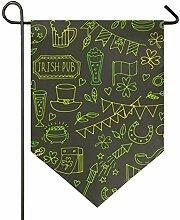 REFFW Banner Garden Flag Birds Doppelseitiges