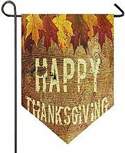 REFFW Banner Home Garden Flag Thanksgiving