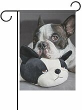 REFFW für Outdoor Lawn Decor Bulldog