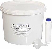 Refill-Set Original DeLonghi Wasserfilter SER3017 als Umbau zur Refill - Nachfüllpatrone mit 10 Liter Filtergranula