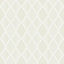 Reflections 5911 Vlies-Tapete Retro geometrische Rauten aus Linien in verschiedenen beigetönen