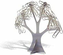 REFLECTS Büroklammernhalter Design Baum Bäumchen