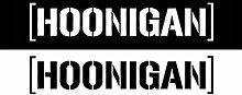 Reflektierende Hoonigan Car Body Styling Aufkleber