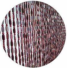 Refue Holzperlenvorhang | Türvorhang Holzvorhang
