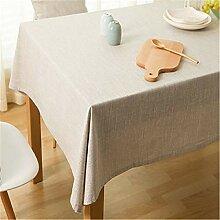 Refuelr Tischdecke Leinen Baumwolle Patchwork