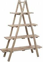 Regal 4Bretter aus Holz natur